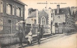 CPA 62 -  ESTREE BLANCHE, Route D'Aire Et La Brasserie - France