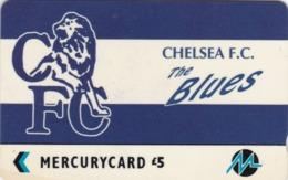 Paytelco, PYF012, Football Clubs, Chelsea Logo, Unused, 2 Scans. - Ver. Königreich