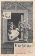 PIE-Z Fo-19-2616 : EDITION BERGERET EDITEUR A NANCY. PETITE OCCASION A LOUER. MIMI PINSON. - Cartes Postales