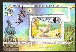 Jersey 2005 Yvertn° Bloc 62 *** MNH Cote 10 Euro Faune Oiseaux Vogels Birds Nordia 2005 - Jersey