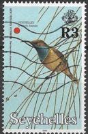 SEYCHELLES 1996 Birds - 3r - Seychelles Sunbird FU - Seychelles (1976-...)