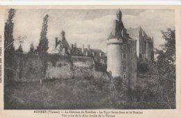 CPA  86 -  BONNES LE CHATEAU DU TOUFFOU ..  P 1571 - France