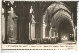 TARRAGONA MONASTERIO DE POBLET SIN ESCRIBIR - Tarragona