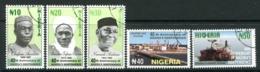 Nigeria 2000 40th Anniversary Of Independence Set Used (SG 764-768) - Nigeria (1961-...)