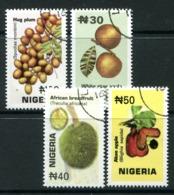 Nigeria 2001 Fruits Set Used (SG 769-772) - Nigeria (1961-...)