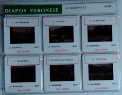 LA BOURBOULE   : 6 DIAPOSITIVES VERONESE SUR FILM KODAK - Diapositives (slides)
