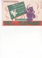 Buvard Thé Eléphant - Kaffee & Tee