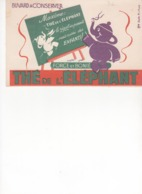 Buvard Thé Eléphant - Café & Thé