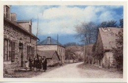 19 BELLECHASSAGNE  Le Bourg Et La Rue Principale - Frankrijk