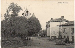19 NAVES  Vue Intérieure Du Village - Frankrijk