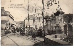 19 OBJAT  Avenue De Vontezac Et Entrée Du Jardin Public - Frankrijk