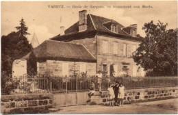 19 VARETZ  Ecole De Garçons  - Monument Aux Morts - Autres Communes