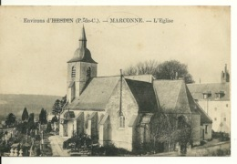62 - ENV. HESDIN - MARCONNE / L'EGLISE - Hesdin