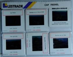 CAP FREHEL   : 6 DIAPOSITIVES LESTRADE SUR FILM KODAK - Diapositives