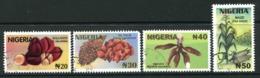 Nigeria 2002 Cash Crops Set Used (SG 790-793) - Nigeria (1961-...)