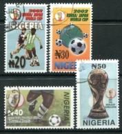 Nigeria 2002 Football World Cup, Japan & Korea Set Used (SG 794-797) - Nigeria (1961-...)