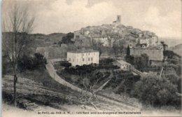 06 - SAINT PAUL Du VAR -- Côté Nord Avec Ses Orangers Et - Saint-Paul