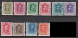 1922 CONJUNTO ALFONSO XIII VAQUER NUEVOS. 75 €. VER - Nuevos