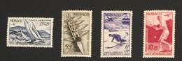 MONACO - Poste Aérienne Yvert N° 32/35 (4 Valeurs) Neufs Sans Charnière  ** MNH Cote 103EUR - Poste Aérienne