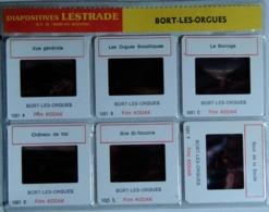 BORT-LES-ORGUES   : 6 DIAPOSITIVES LESTRADE SUR FILM KODAK - Diapositives