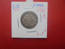 """DEUTSCHES REICH 1 MARK 1892 """"A"""" ARGENT (A.2) - [ 2] 1871-1918 : Imperio Alemán"""