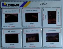 MURAT   : 6 DIAPOSITIVES LESTRADE SUR FILM KODAK - Diapositives (slides)