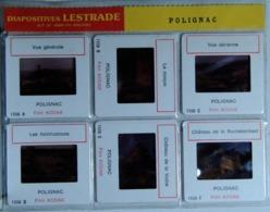 POLIGNAC   : 6 DIAPOSITIVES LESTRADE SUR FILM KODAK - Diapositives