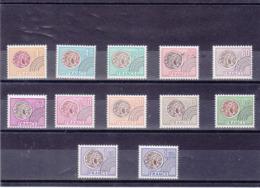 FRANCE 1975-1976 Préoblitérés Yvert 134-145 NEUFS** MNH Cote : 22 Euros - 1964-1988