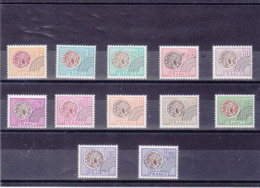 FRANCE 1975-1976 Préoblitérés Yvert 134-145 NEUFS** MNH Cote : 22 Euros - Préoblitérés