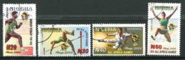 Nigeria 2003 Eighth All Africa Games, Abuja Set Used (SG 802-805) - Nigeria (1961-...)