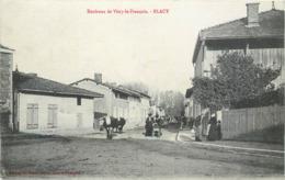 CPA 51 Marne Blacy - Environs De Vitry Le François - Vaches - Francia