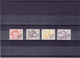 FRANCE 1979 CHAMPIGNONS Préoblitérés Yvert 158-161 NEUFS** MNH - Préoblitérés