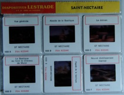 SAINT-NECTAIRE   : 6 DIAPOSITIVES LESTRADE SUR FILM KODAK - Diapositives (slides)