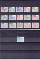 FRANCE 1979-1982 MONUMENTS HISTORIQUES Préoblitérés Yvert 162-177 NEUFS** MNH Cote : 14 Euros - 1964-1988