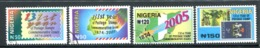 Nigeria 2005 131st Year Of Commemorative Postage Stamps Set Used (SG 823-826) - Nigeria (1961-...)