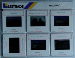 MAURIAC   : 6 DIAPOSITIVES LESTRADE SUR FILM KODAK - Dias