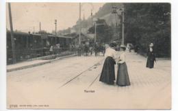 Territet Gare Train 1909   -----   561 - VD Vaud