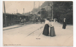 Territet Gare Train 1909   -----   561 - VD Waadt
