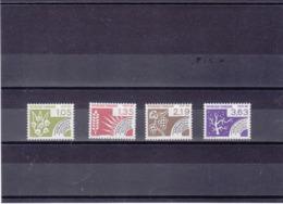 FRANCE 1983 LES 4 SAISONS Préoblitérés Yvert 178-181 NEUFS** MNH - 1964-1988