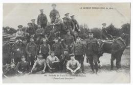 La Guerre Européenne De 1914 Soldats Du Train Des équipages Anglais - Guerre 1914-18