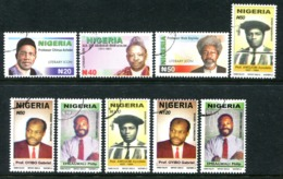 Nigeria 2006 Nigerian Personalities Set Used (SG 830-838) - Nigeria (1961-...)