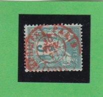 SAGE N° 75 TYPE IIA   - CACHET ROUGE IMPRIMES - PARIS - 30 NOV.1877   - REF 1602 - 1876-1898 Sage (Type II)