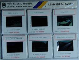 LE MASSIF DU SANCY 4  : 6 DIAPOSITIVES LESTRADE SUR FILM KODAK - Diapositives (slides)