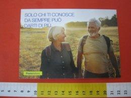 CA.2 ITALIA CARTOLINA CARD POSTE ITALIANE PROGRAMMA SENIOR ANZIANI OLD MAN TERZA ETA' SOLE SCARPA FILATELIA - NUOVA - Europa