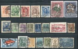 RUSSIE - DIVERS OBL. - B/TB - 1917-1923 Republic & Soviet Republic