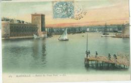 Marseille 1905; Entrée Du Vieux Port - Voyagé. (LL) - Autres