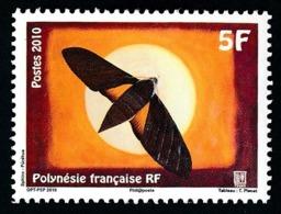 POLYNESIE 2010 - Yv. 930 **  - Papillon Sphinx Purehua  ..Réf.POL24885 - Neufs
