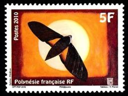 POLYNESIE 2010 - Yv. 930 **  - Papillon Sphinx Purehua  ..Réf.POL24886 - Frans-Polynesië