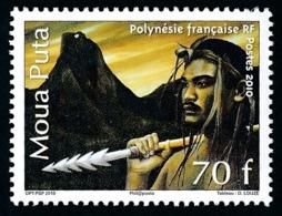 POLYNESIE 2010 - Yv. 934 **   Faciale= 0,59 EUR - Légende Du Moua Puta  ..Réf.POL24889 - Polynésie Française