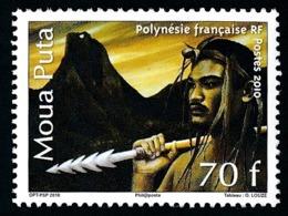 POLYNESIE 2010 - Yv. 934 **   Faciale= 0,59 EUR - Légende Du Moua Puta  ..Réf.POL24890 - Polynésie Française